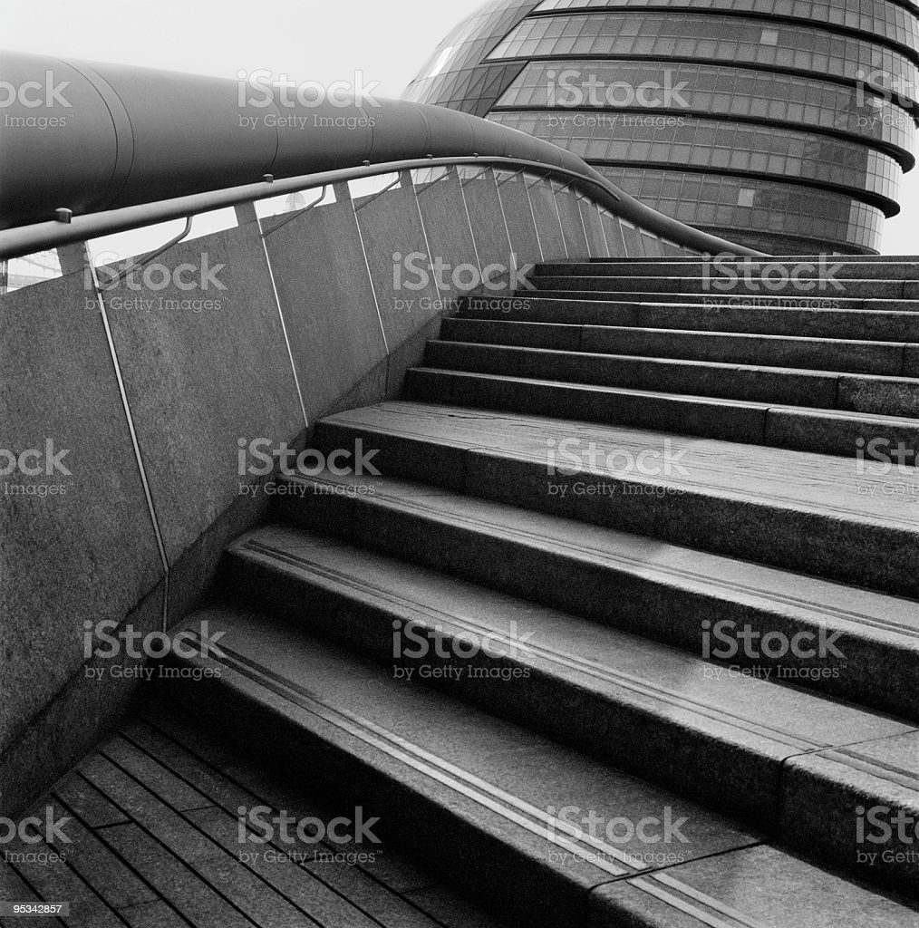 Steps in London royalty-free stock photo