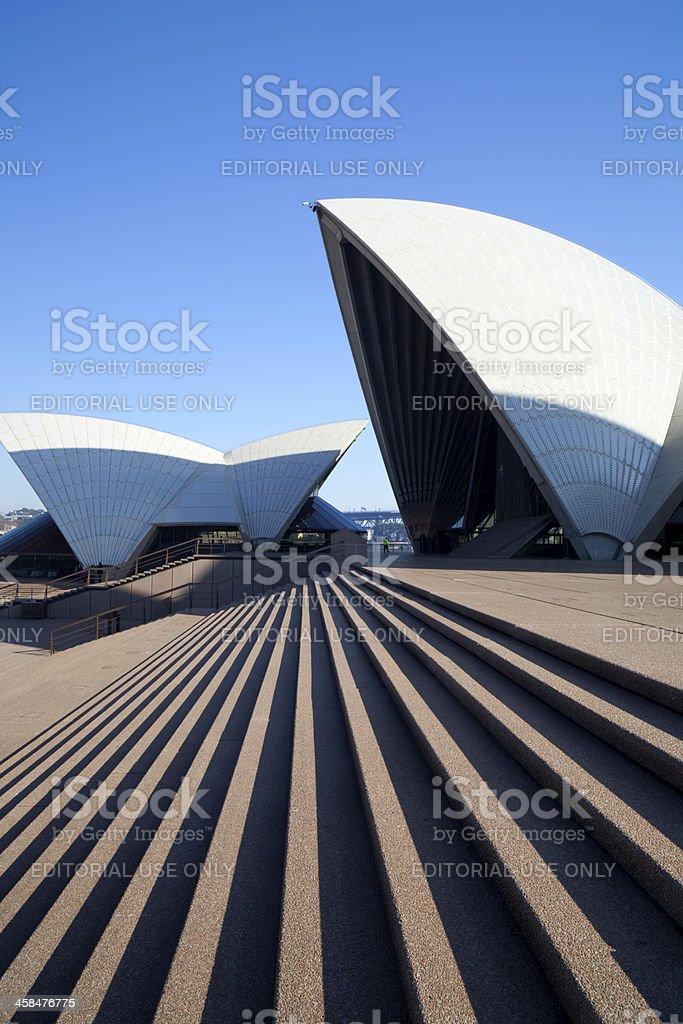 Steps Of The Sydney Opera House royalty-free stock photo