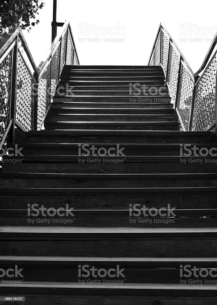 Steps stock photo