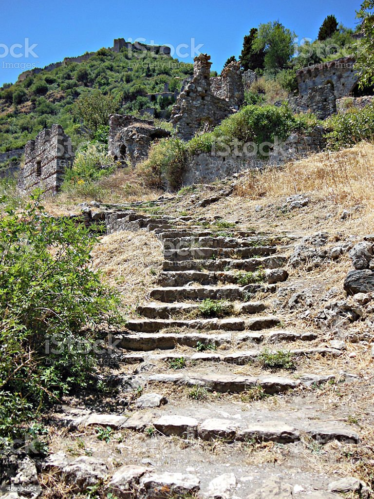 Steps to ancient ruins - Hydra Series @ XpX stock photo