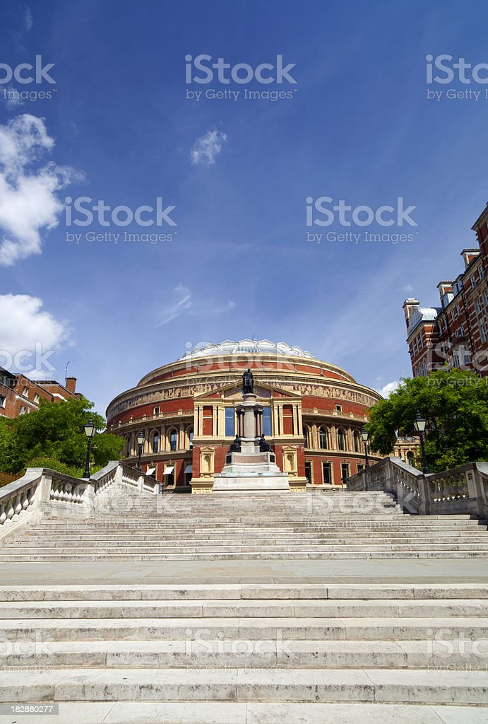 Steps To The Albert Hall stock photo