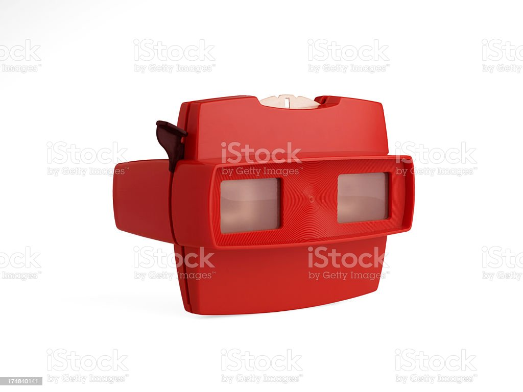Stereo 3D Image Viewer stock photo