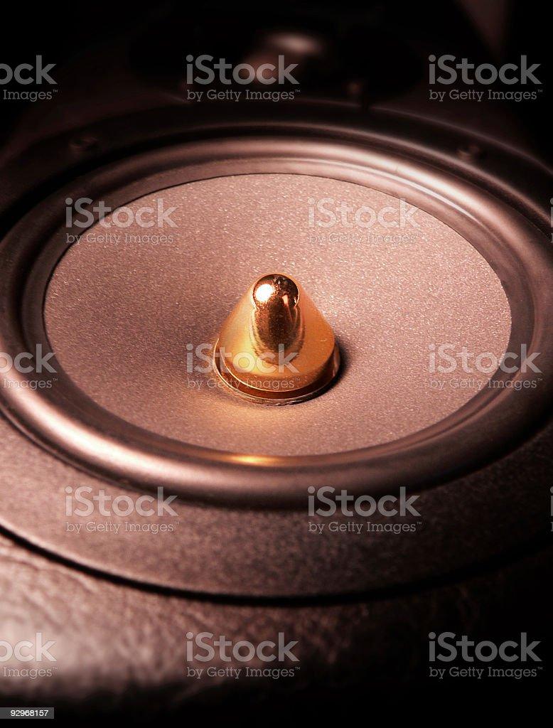 Stereo Hi Fi Loud Speaker 2 stock photo