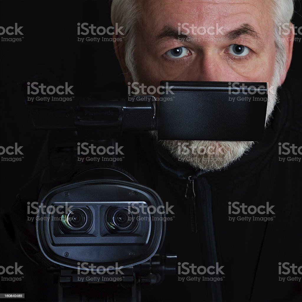 Stereo portrait royalty-free stock photo