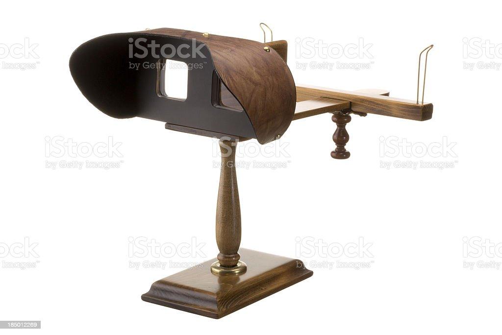 Stereoscope royalty-free stock photo