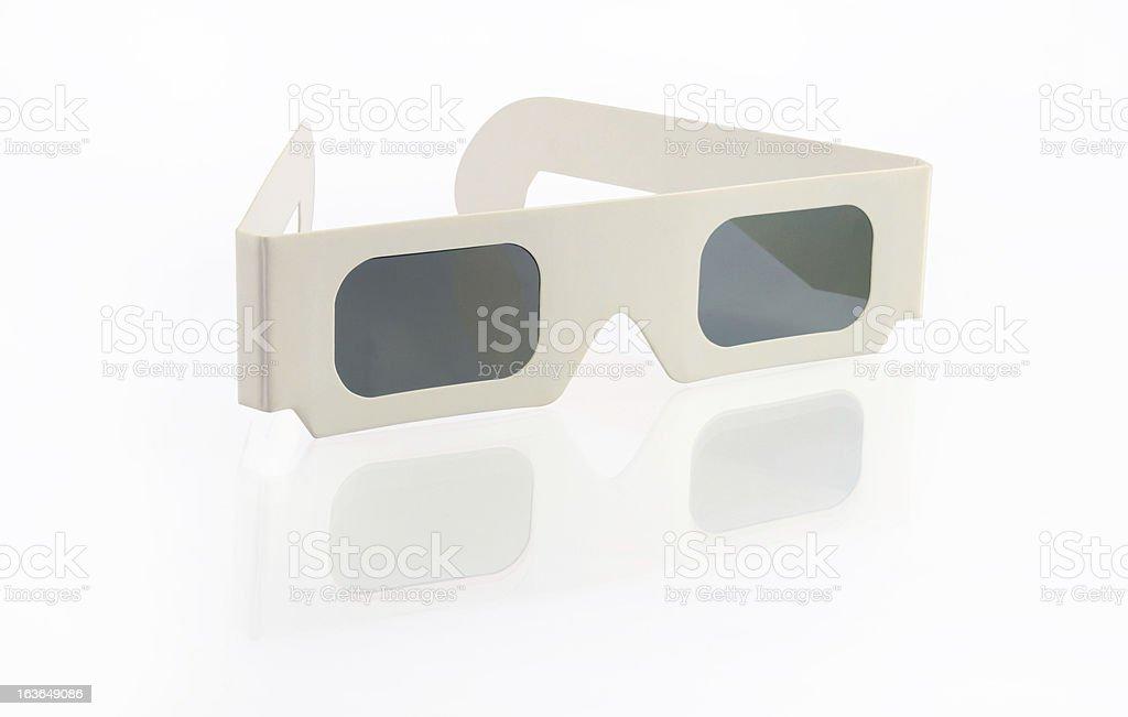 Stereoscopic Glasses royalty-free stock photo