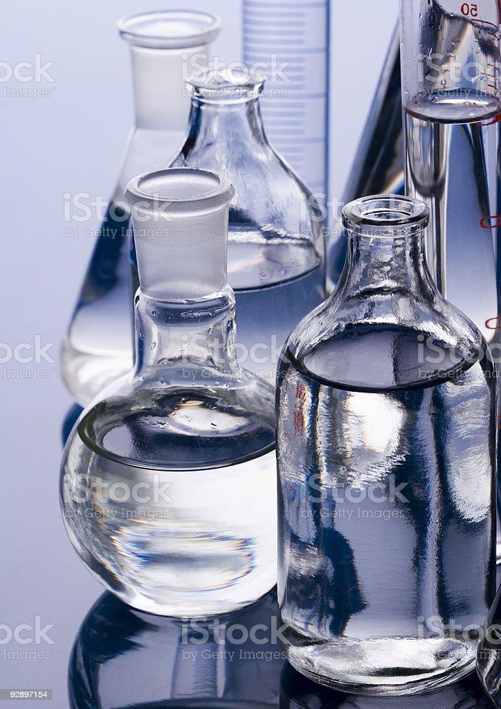 Sterile conditions stock photo