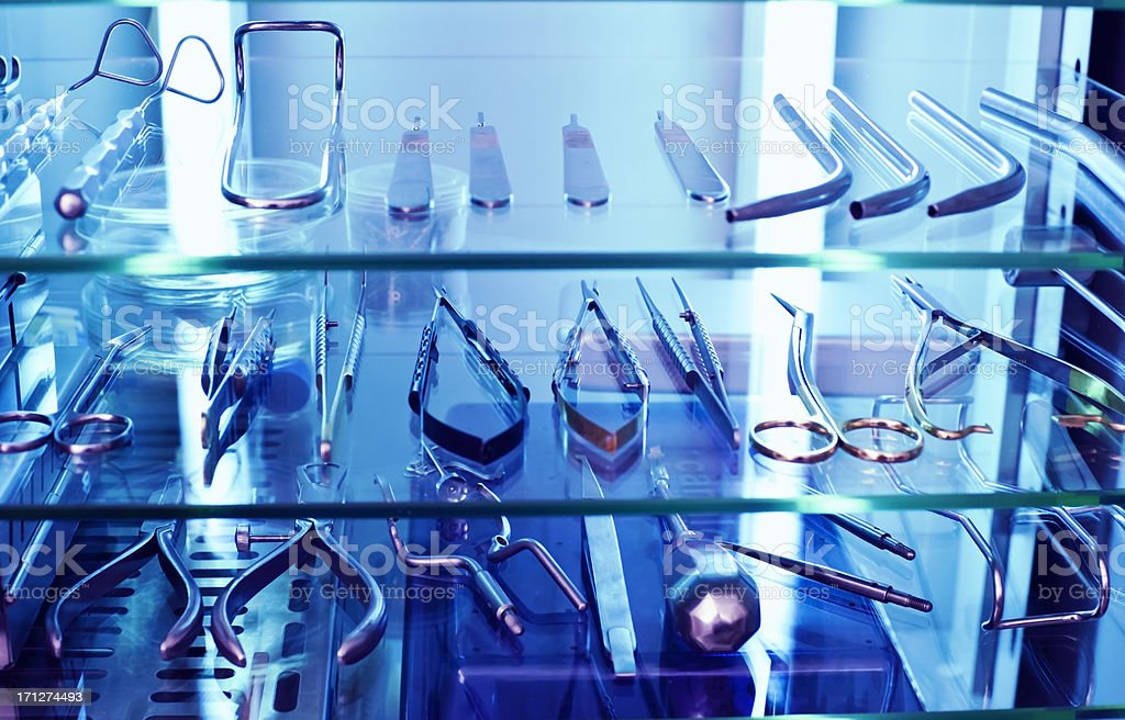 Sterilized dental equipement royalty-free stock photo