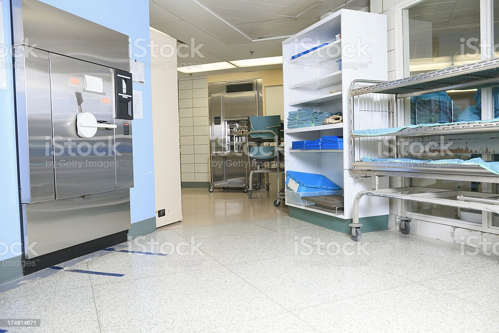 Sterilizer in Hospital - Environment stock photo