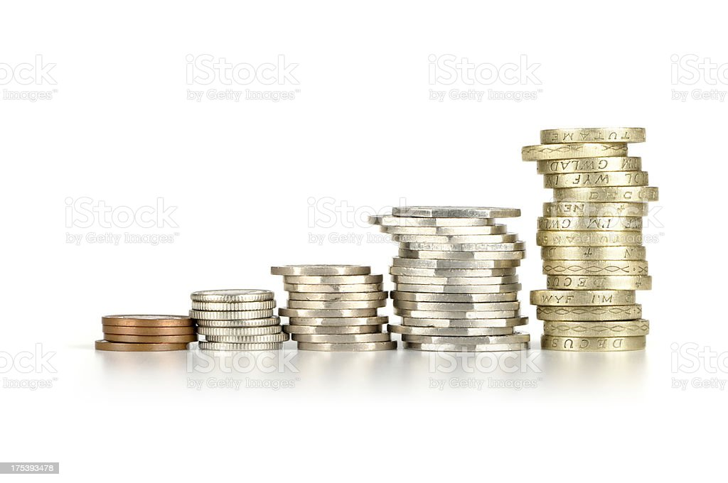 Sterling Profit stock photo