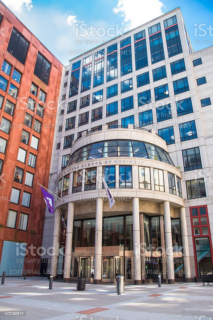 Stern School of Business NYU stock photo