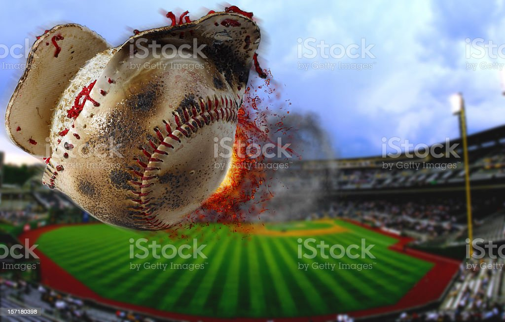 Steroids in Baseball stock photo