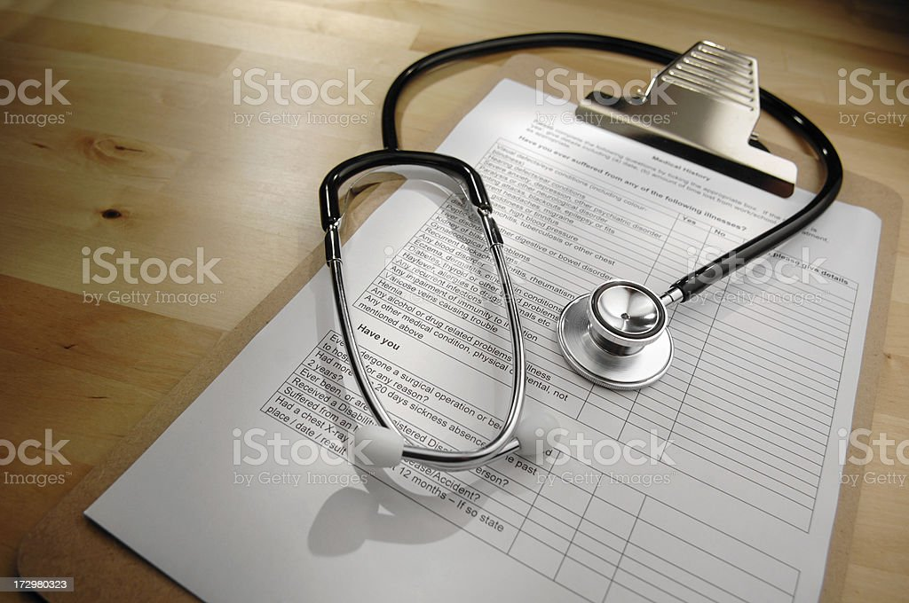stethescope series royalty-free stock photo