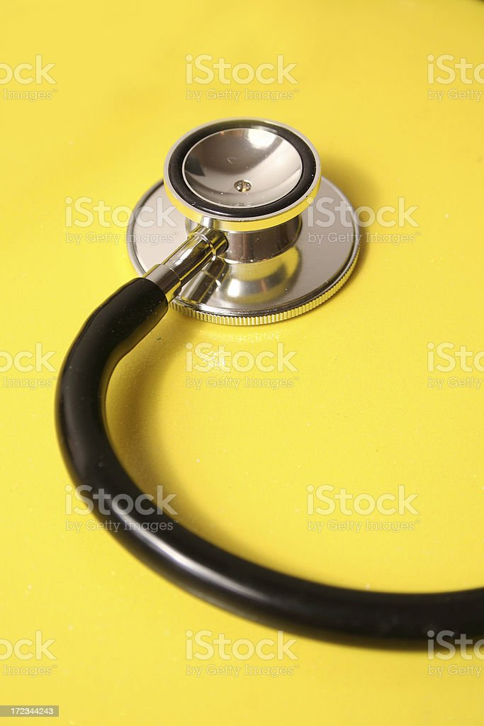 Stethoscope and Health royalty-free stock photo