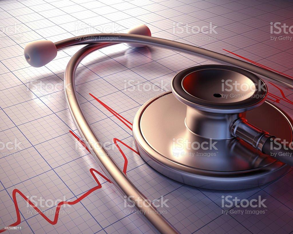Stethoscope Close stock photo