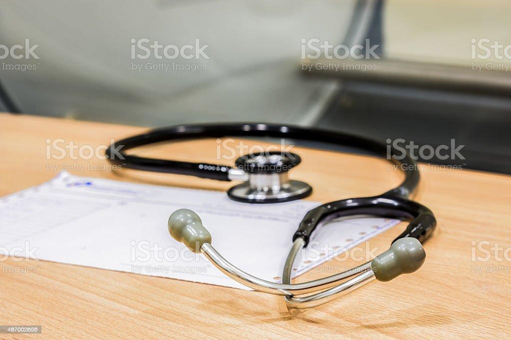 Stethoskop Lizenzfreies stock-foto