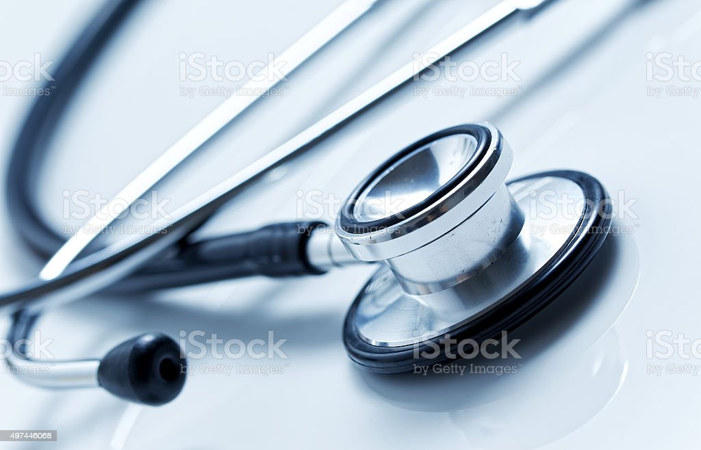 Stethoscope stock photo