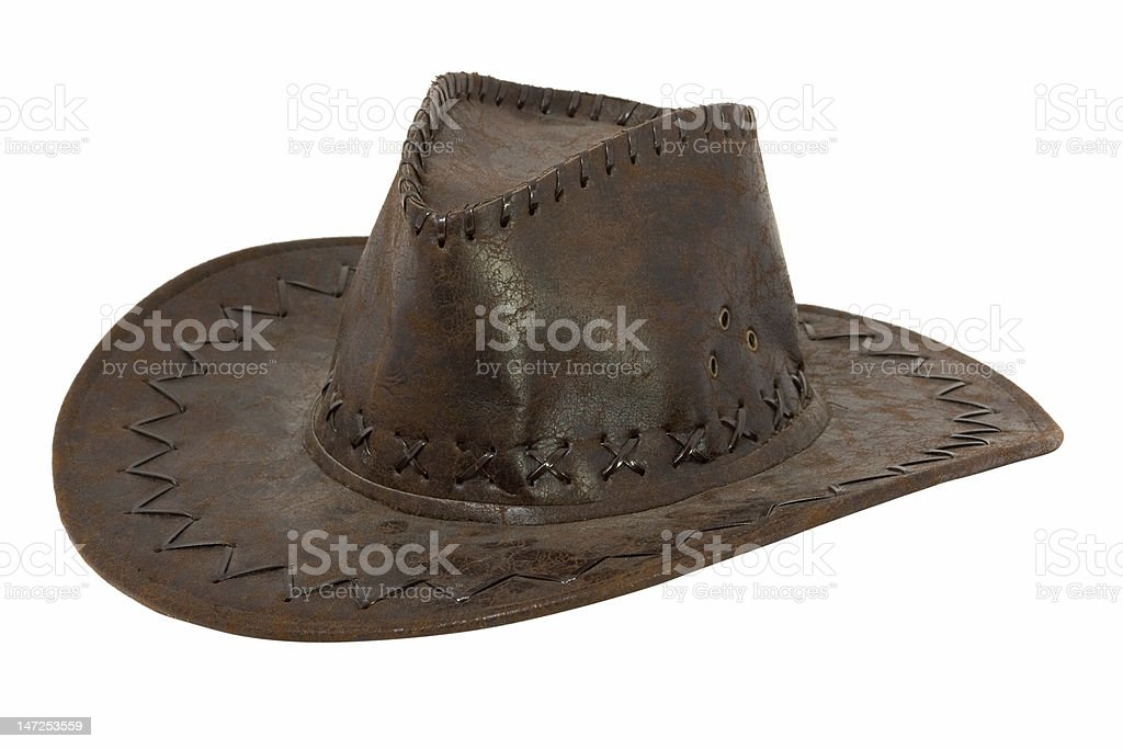 stetson hat royalty-free stock photo