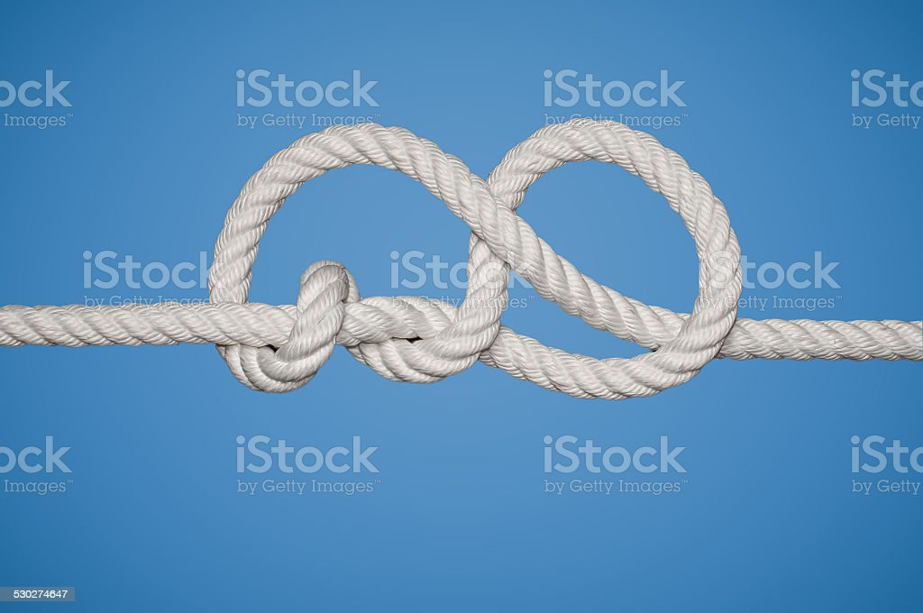 Stevedore Knot stock photo