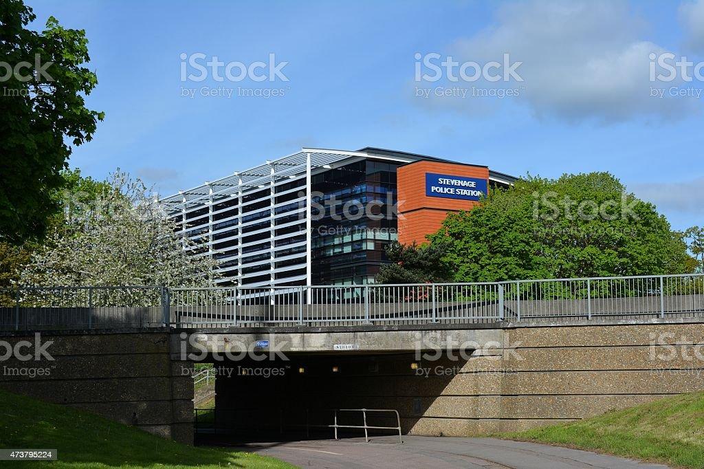 Stevenage Police Station Hertfordshire stock photo