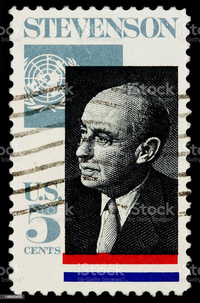 Stevenson 1965 stock photo