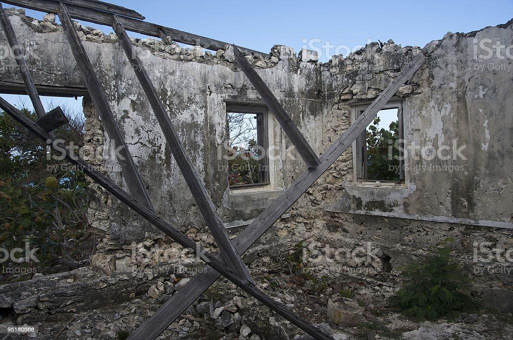 Steventon ruins stock photo