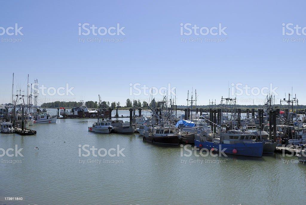 Steveston, British Columbia, Canada stock photo