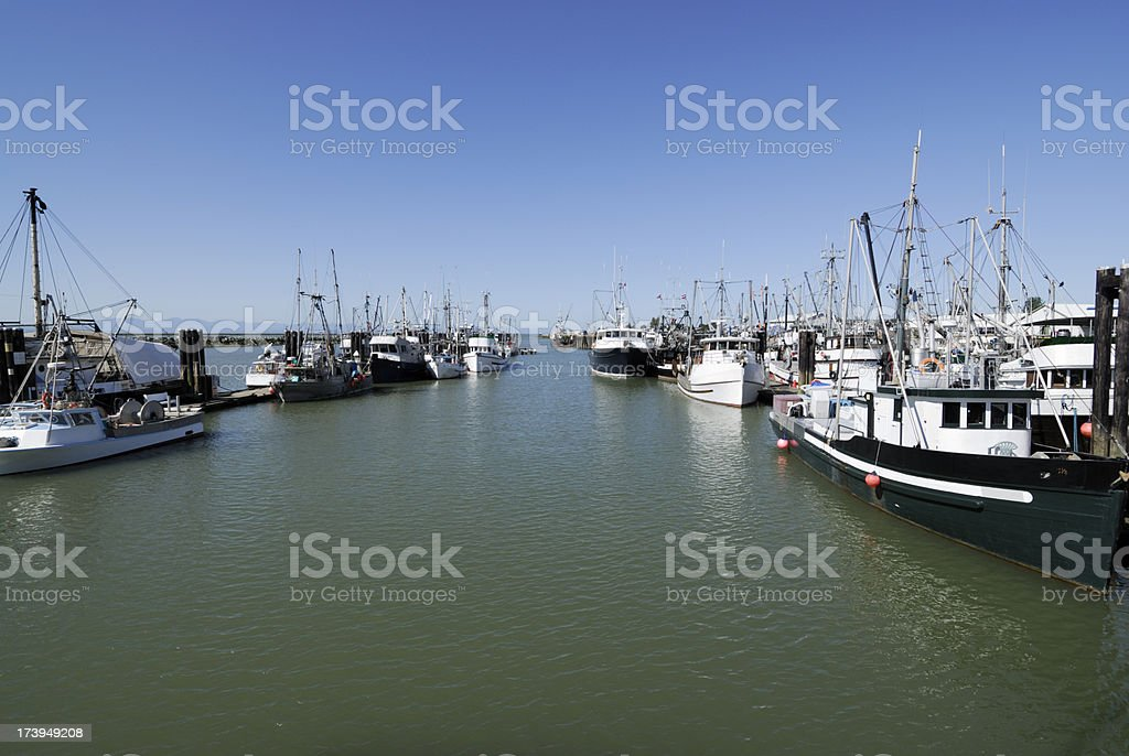 Steveston, British Columbia, Canada royalty-free stock photo