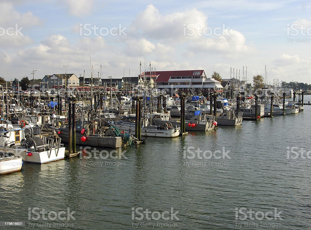 Steveston royalty-free stock photo