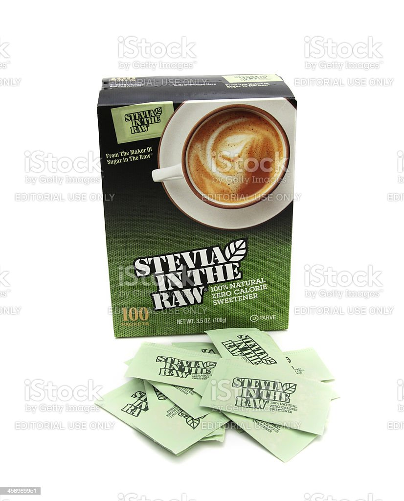Stevia in the Raw stock photo