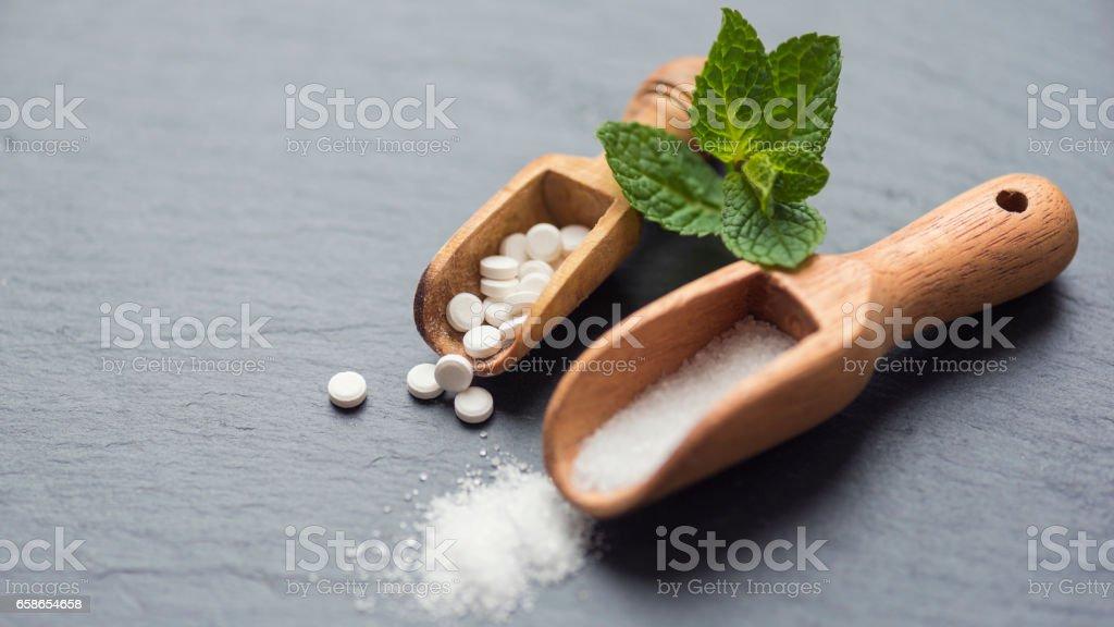 Stevia – Sugar Substitute stock photo