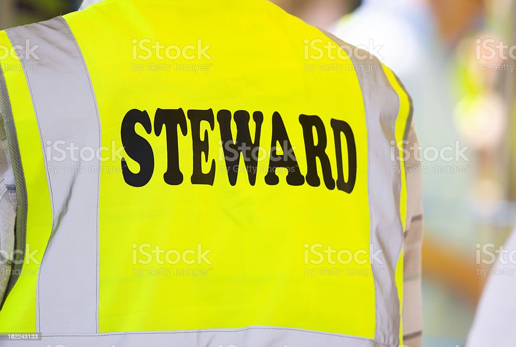 Steward royalty-free stock photo