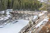 Stewart Creek Footbridge over Cascade Canyon