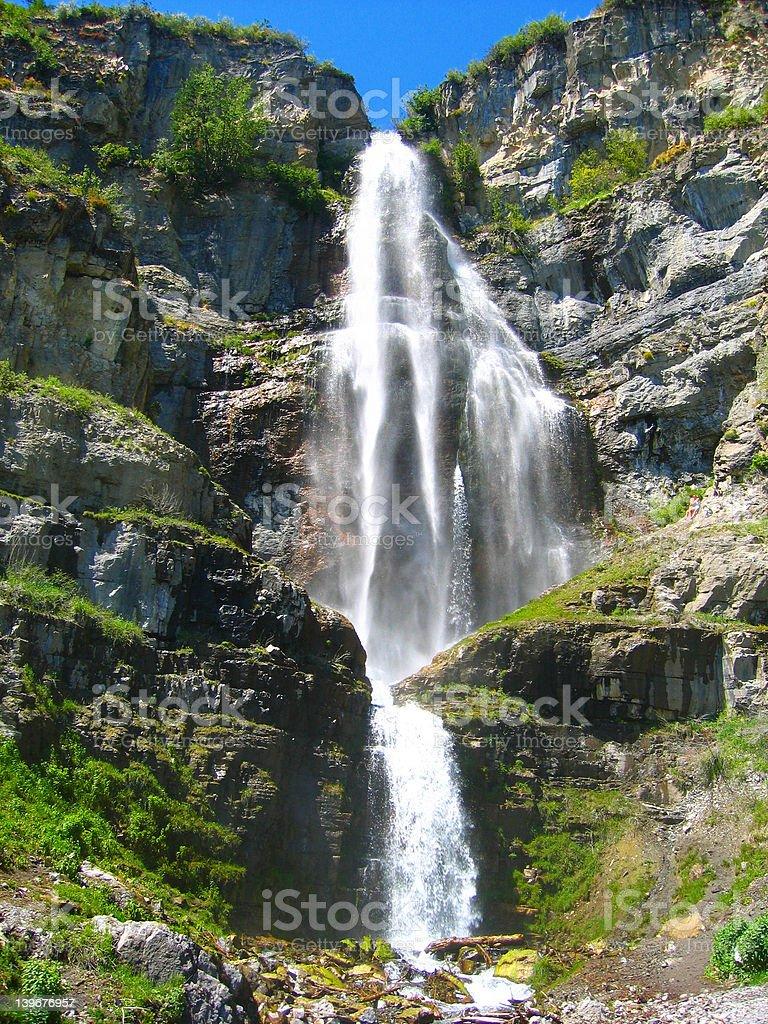 stewart waterfall stock photo