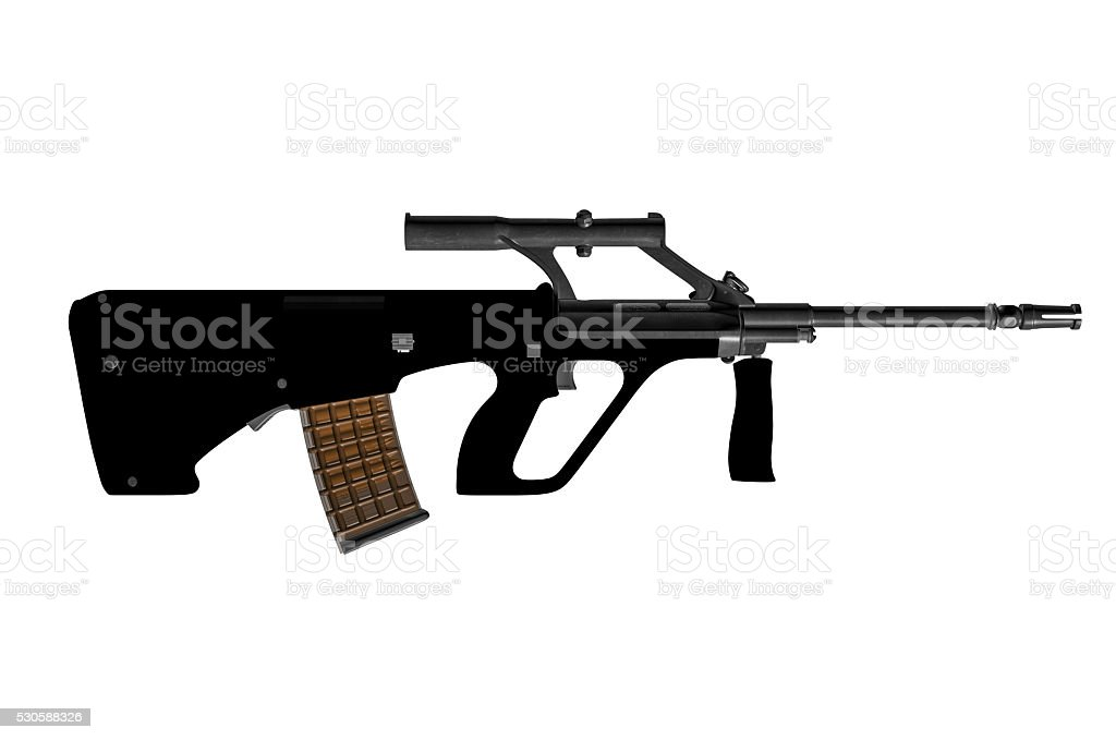Steyr AUG A1 With 508 mm (20.0'') Barrel stock photo