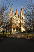 St.Francis of Assisi church in Vienna