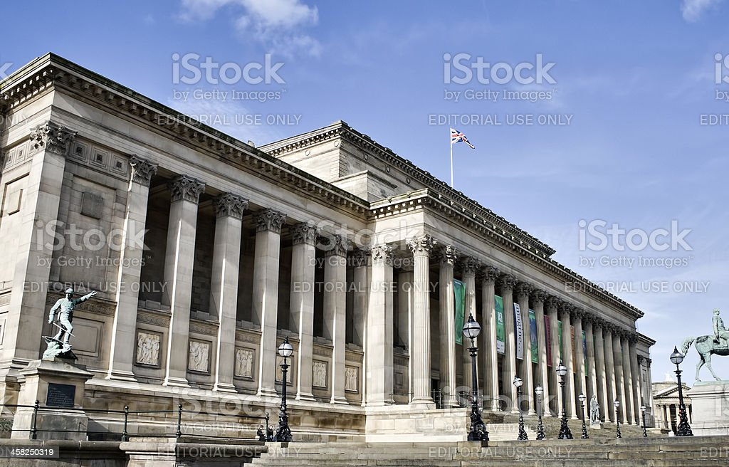 St,Georges Hall Liverpool UK. royalty-free stock photo