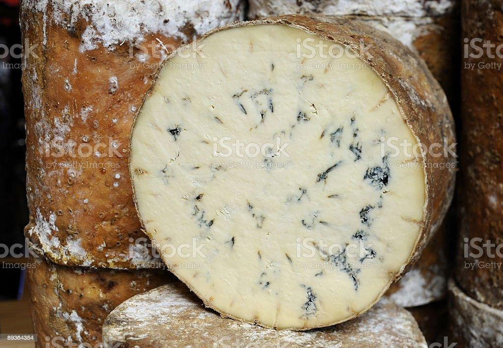 Stichelton cheese royalty-free stock photo