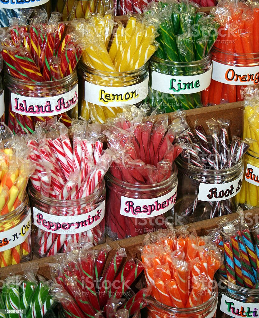 Stick Candy stock photo