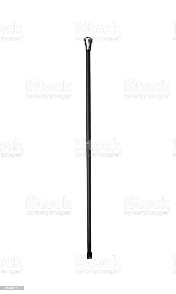 stick for old person royalty-free stock photo