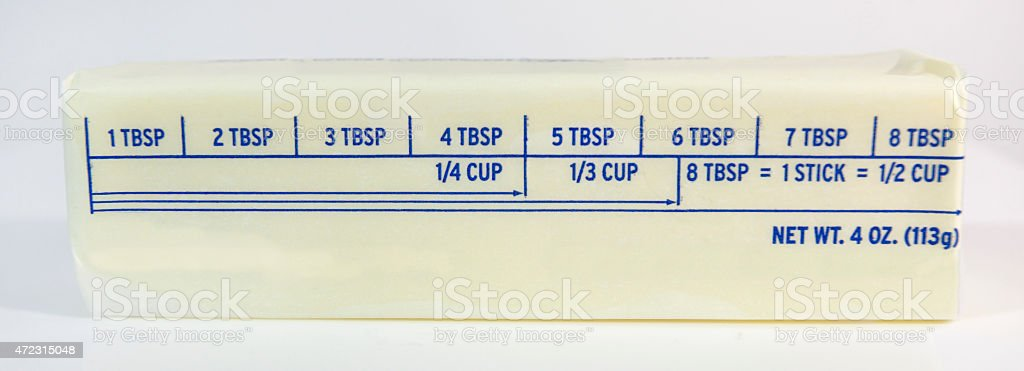 Stick of Butter stock photo