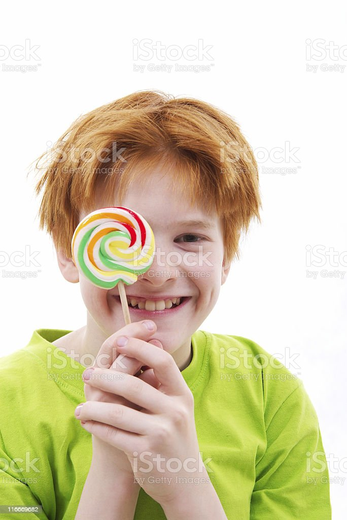 stick of candy royalty-free stock photo
