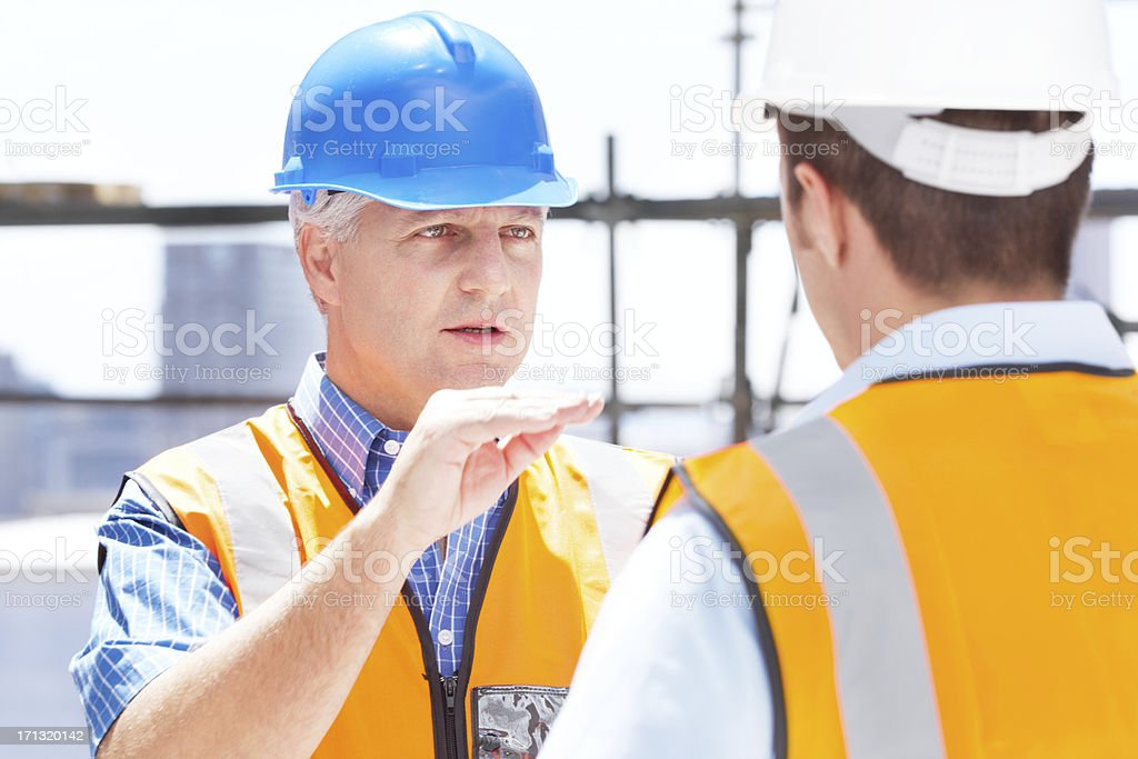 Stick to the plan! stock photo
