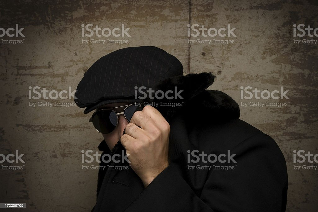 Stick to the Shadows royalty-free stock photo