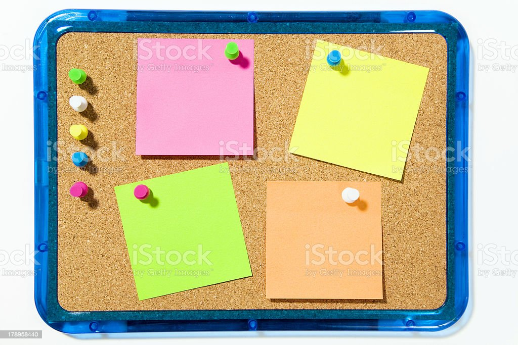stickies royalty-free stock photo