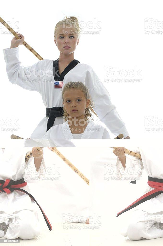Sticks royalty-free stock photo