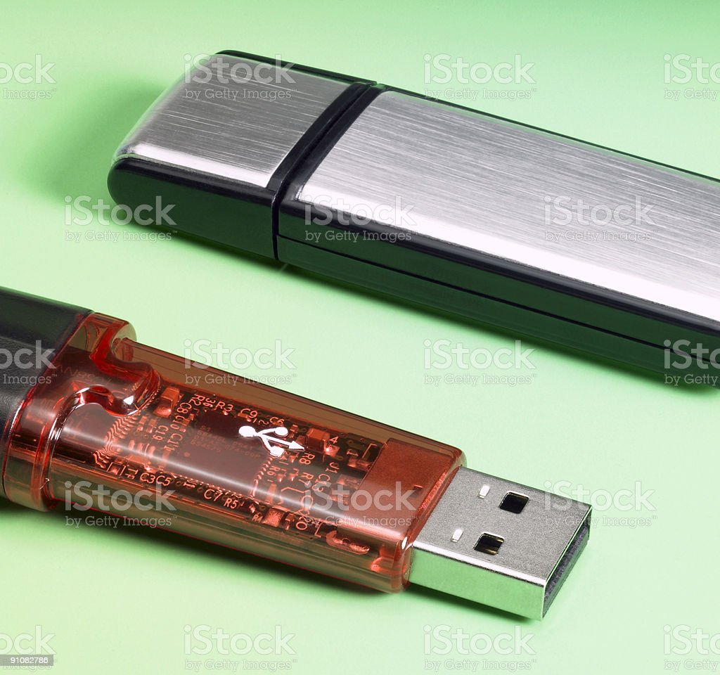 USB sticks royalty-free stock photo