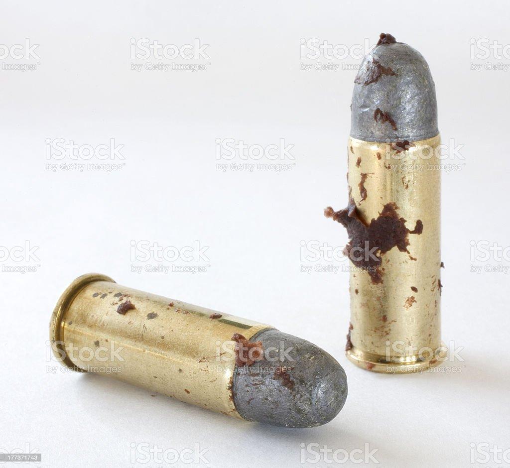 Sticky bullets stock photo