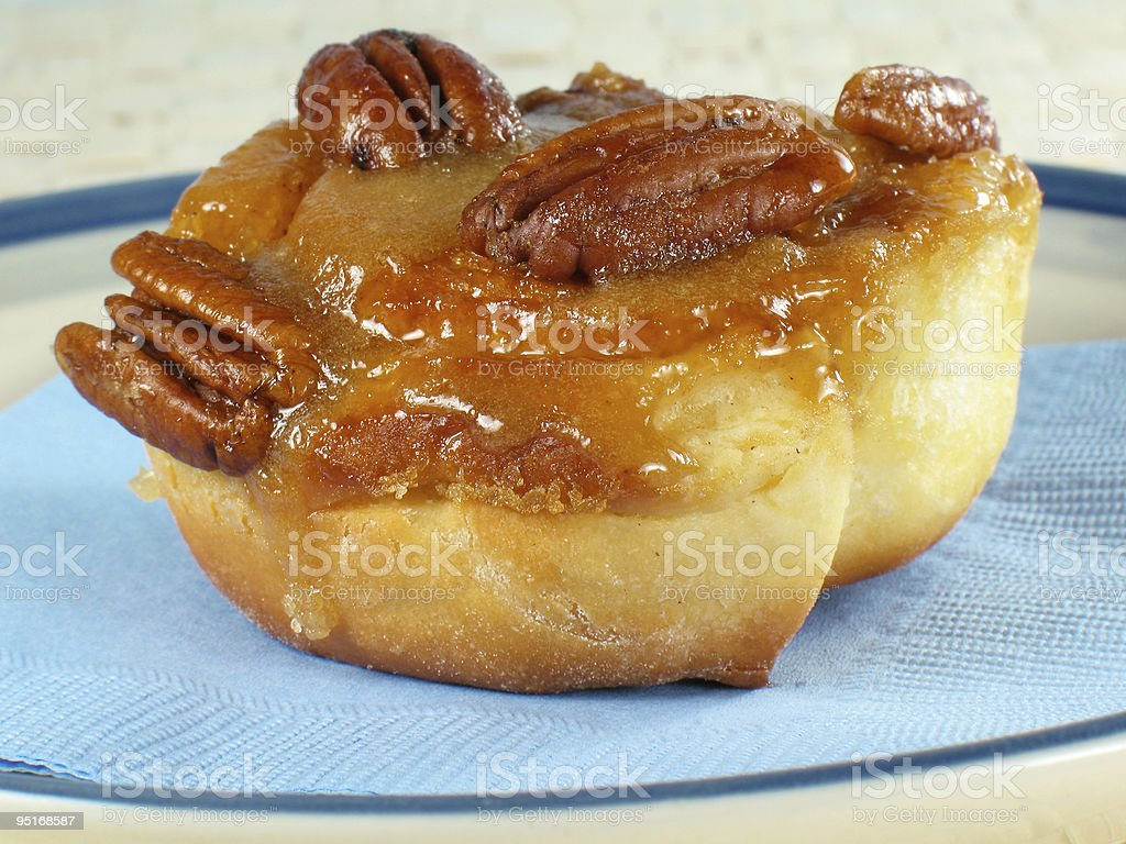 Sticky Bun royalty-free stock photo
