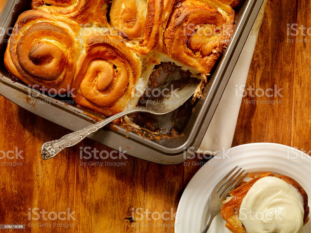 Sticky Buns stock photo